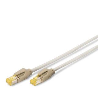 S/FTP Cat6A patch kábel 2 m, LSZH köpeny