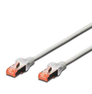 S/FTP Cat6 patch kábel 3 m, HF köpeny DK-1644-030
