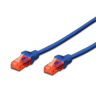 UTP Cat6 patch kábel 1 m, kék DK-1617-010/B