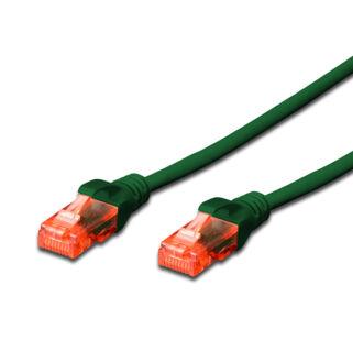 UTP Cat6 patch kábel 1 m zöld DK-1617-010/G
