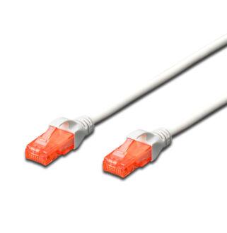UTP Cat6 patch kábel 2 m, fehér DK-1617-020/WH