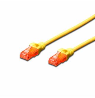 UTP Cat6 patch kábel 2 m, sárga DK-1617-020/Y