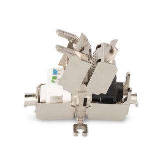 Keystone FTP Cat6A toldó tooless DN-93909