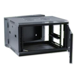 6U fali rack szekrény 600x600 kétrészes