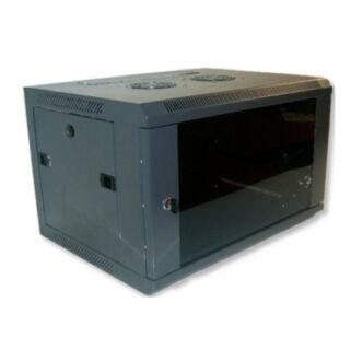 12U fali rackszekrény 600x450 hegesztett