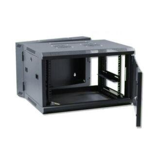 12U fali rackszekrény 600x600 kétrészes