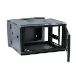 15U fali rackszekrény 600x600 kétrészes