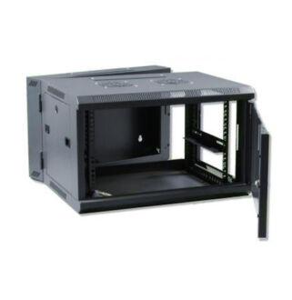 18U fali rackszekrény 600X600 kétrészes