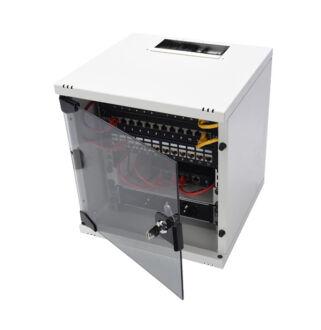 """Mini Rack Szekrény 312x300 10"""" RAL7035 DN-10-05U-1"""