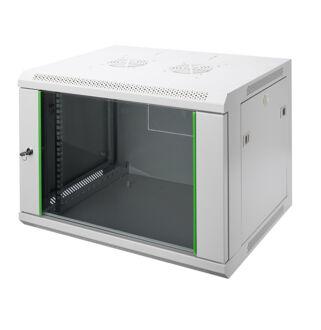 7U fali rackszekrény 600x450 DN-19 07-U-EC