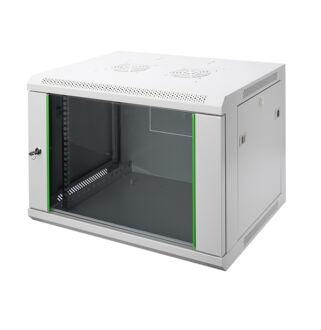 9U fali rackszekrény 600x450 DN-19 09-U-EC