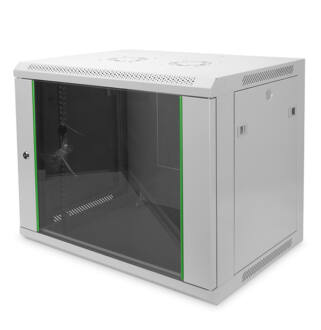 9U fali rackszekrény 600x600 BASIC Digitus / DN-19-09U-6/6-EC