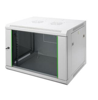 12U fali rackszekrény 600x450 DN-19 12-U-EC