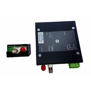 Optikai video set, MM 6km, 1 csatornás