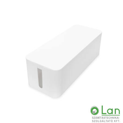 Kábelrendező doboz L  fehér DA-90501