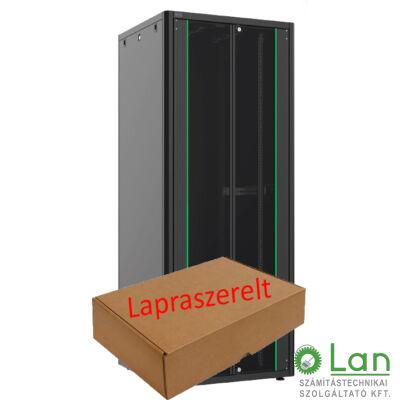 42U szerver rack szekrény   800X1000 fekete
