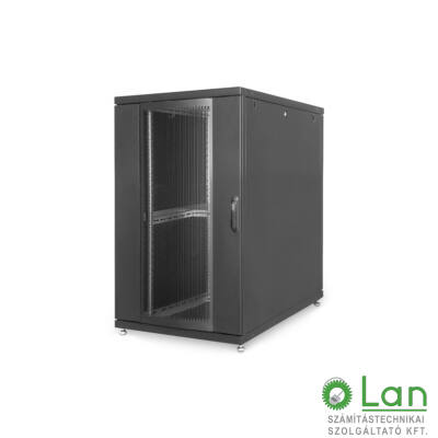 26U szerver rack szekrény 800x1000 Unique DN-19 SRV-26U-8-B