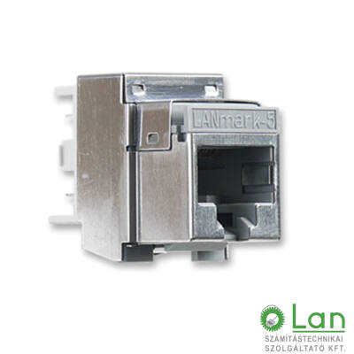 LANmark-5 Evo Snap-in Connector, Screened for solid wire, FTP