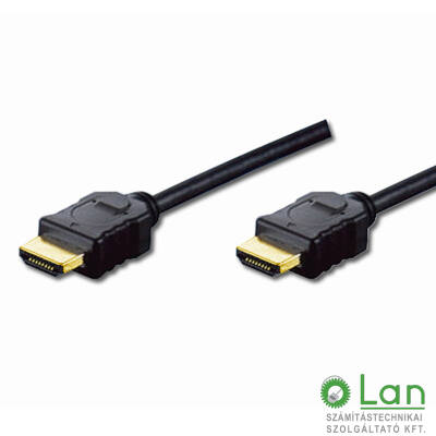 HDMI kábel 3m Digitus / AK-330114-030-S