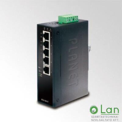 Planet IGS-501T IP30 5-Port Industrial Gigabit Ethernet Switch