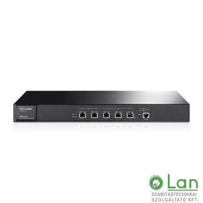 TP-LINK Giga router 5 port ,rack-es 2 WAN , belső ant.