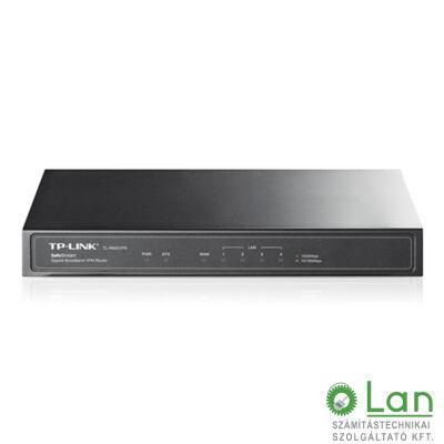 TP-LINK Giga router 5 port , asztali 1 WAN , belső ant.