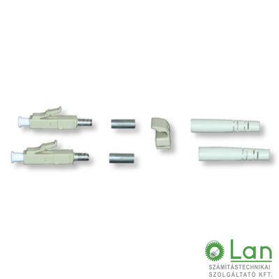 LC csatlakozó MM duplex (3mm törésgátló)