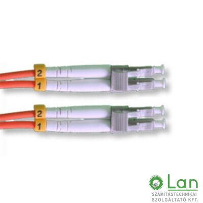 Optikai patch LC-LC 62,5/125 duplex  2m