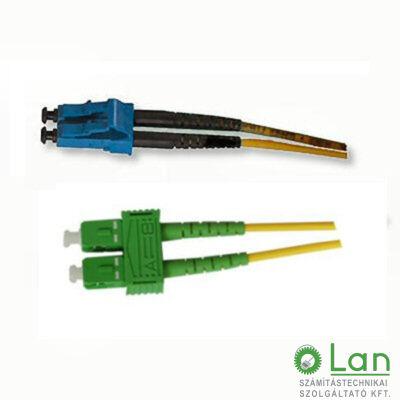 Optikai patch SC/A-LC  9/125 duplex  1m