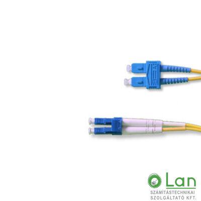 Optikai patch SC-LC  9/125 duplex 10m