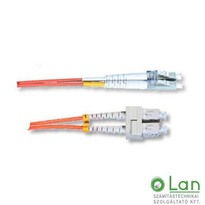 Optikai patch SC-LC 50/125 duplex 10m