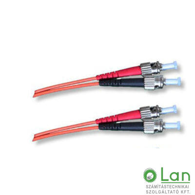 Optikai patch ST-ST 62/125 duplex 10m