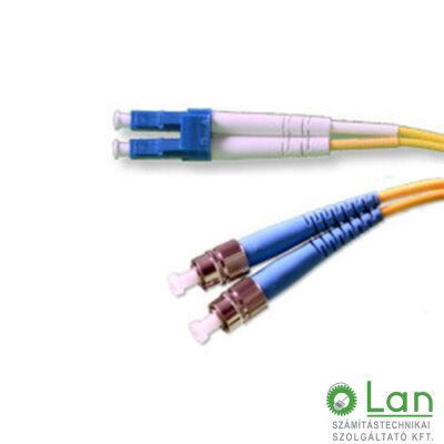 Optikai patch ST-LC  9/125 duplex  1m