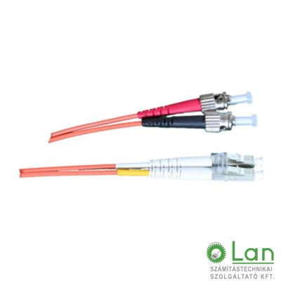 Optikai patch ST-LC 62/125 duplex  2m