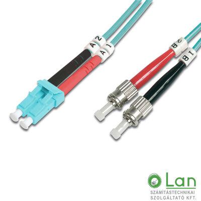 Optikai patch ST-LC 50/125 OM3 duplex 2m