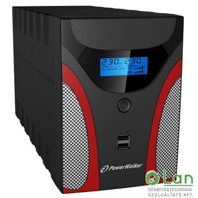1600 line interactive Gaming UPS LCD IEC Power Walker/10121059