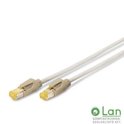 S/FTP Cat6A patch kábel 1 m, LSZH köpeny DK-1643-A-010