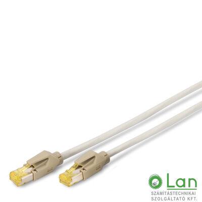 S/FTP Cat6A patch kábel 5 m, LSZH köpeny DK-1643-A-050