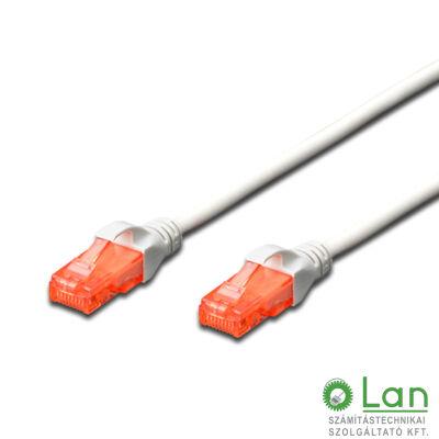 UTP Cat6 patch kábel 1 m fehér DK-1617-010/WH