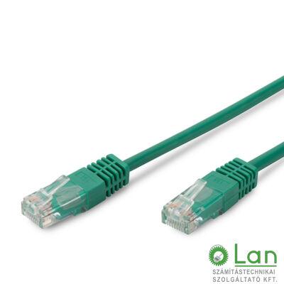 UTP Cat5 patch kábel 2 m, zöld DK-1512-020/G