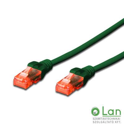 UTP Cat6 patch kábel 2 m zöld DK-1617-020/G