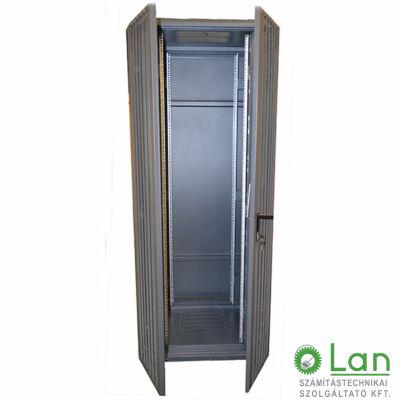 22U szerver rack szekrényhez perforált ajtó (600*22U), dupla G7