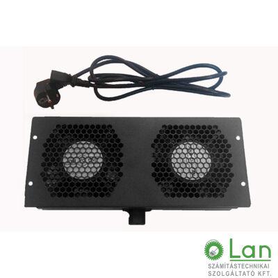 Ventilátor panel X-Tech álló szekrényhez 2fan/panel