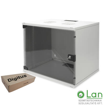 7U fali rackszekrény 540x400 lapra szer. DN-19-07U-S1